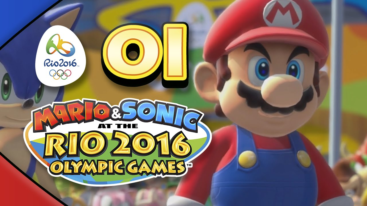 Mario and Sonic at the Rio 2016 Olympic Games for Wii U: Part 01 – Football (4-Player)
