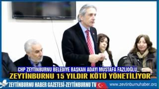 CHP Zeytinburnu Belediye Başkan Adayı Mimar Mustafa Fazlıoğlu Afgan Türk Dostluk Konseyi Derneğinde