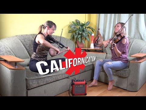 "Red Hot Chili Peppers  ""Californication"" Cover by Anastasia Soina"