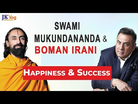 Quotes about happiness - JKYog Happiness and Success Series Teaser  Swami Mukundananda and Boman Irani