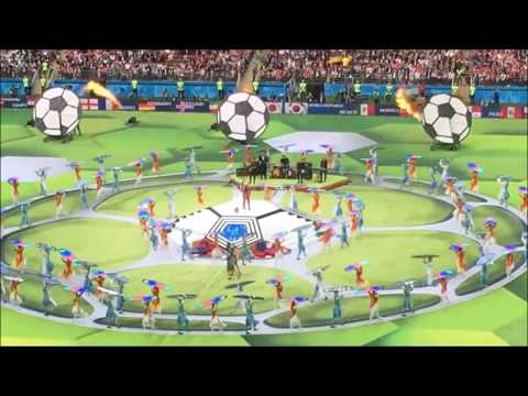 Robbie Williams On Opening Ceremony World Cup 2018.