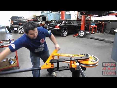 Como curvar tubo de alumino e ferro sem amassar