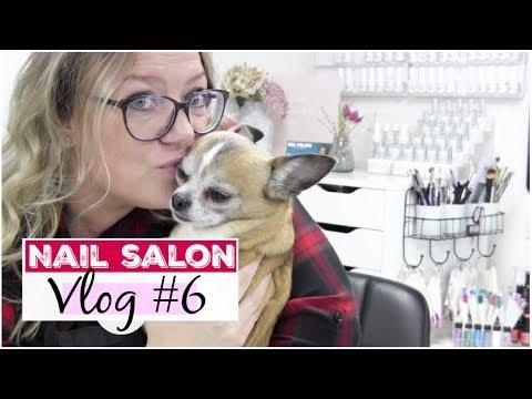 Nail Salon vlog #6 Bloopers, bloemen nailart & AliExpress  Beautynailsfun.nl