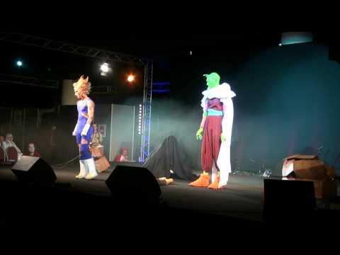 Cosplay Vegeta & Trunks & Piccolo (DBZ)