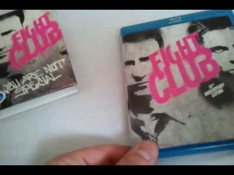 Fight Club (1999) Blu Ray Review And Unboxing