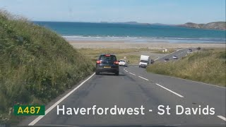 Haverfordwest United Kingdom  city photos gallery : [GB] A487, Part 1: Haverfordwest to St Davids