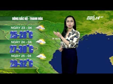 (VTC14)_ Thời tiết 12h ngày 22.04.2017