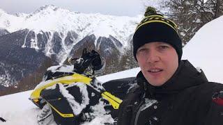 5. В Сочи на Ski-doo Summit SP 850