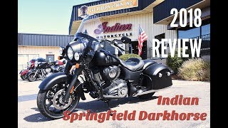 7. HILLON2WHEELS Review: 2018 Springfield Dark Horse