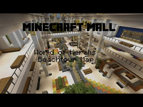 Minecraft Mall - Map Creation