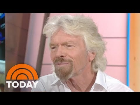 Sir Richard Branson On Staying In The Caribbean During Hurricane Irma   TODAY