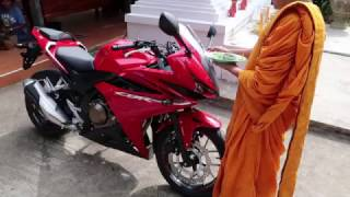 Khueang Nai Thailand  City pictures : BACK IN THAILAND #8 - blessing of motorcycle and where i am - ISAAN ubon
