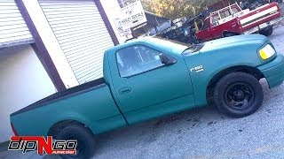 Ford F150 Truck Painted With Plasti Dip