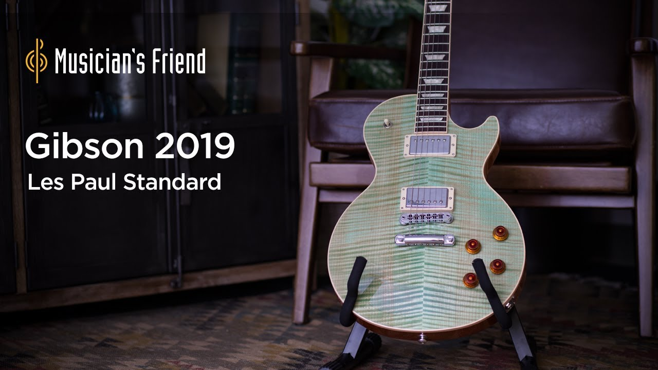 Gibson 2019 Les Paul Standard Electric Guitar Demo
