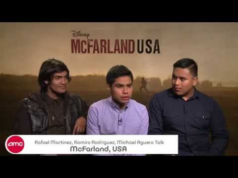 Rafael Martinez, Ramiro Rodriguez, Michael Aguero Chat MCFARLAND, USA – AMC Movie News
