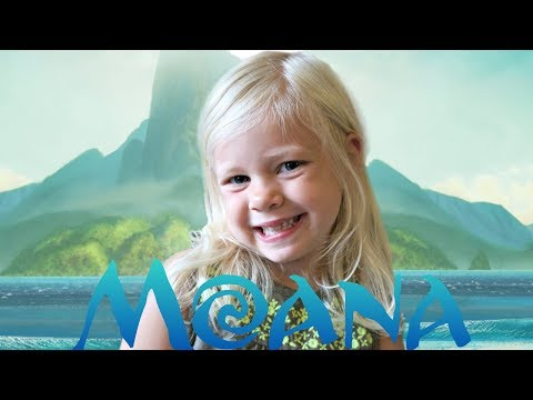4 year old little girl sings HOW FAR I'LL GO - DISNEY'S MOANA