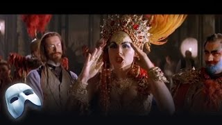 The phantom disrupts Carlotta's singing and Madame Giry discovers an ominous letter in The Phantom of the Opera: The Film. Starring Gerard Butler, Emmy ...