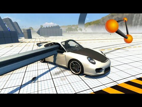 beamng drive insane testing crash testing porsche 911 21. Black Bedroom Furniture Sets. Home Design Ideas