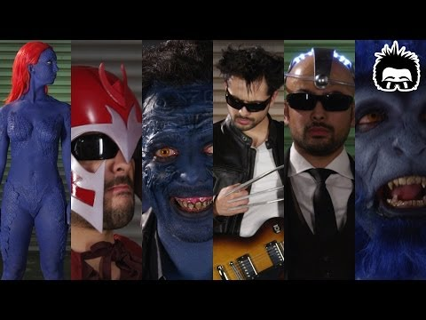 mysteryguitarman - Get Your Axe X-Men Gift Pack: http://bit.ly/mgmAxe Join us! http://bit.ly/JoinMGM More videos: http://youtube.com/MysteryGuitarMan EXTRA LINKS: My second cha...