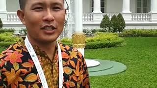Petani Gowa Sehari Bersama Jokowi