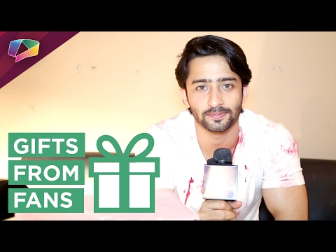 Shaheer Sheikh receives gifts from his fans