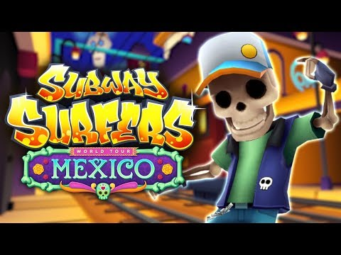 Subway Surfers World Tour 2017 - Mexico - Official Trailer (видео)