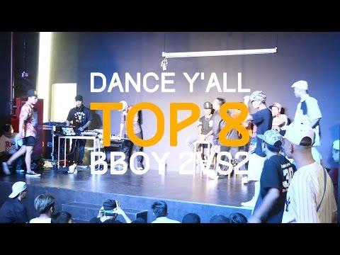 DANCE Y'ALL VOL.5 - Top 8 Bboy 2vs2 - CG HĐ team vs Fan cuồng anh Sơn Hiếu