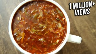 Learn How To Make Hot And Sour Vegetable Soup Recipe from The Bombay Chef - Varun Inamdar only on Rajshri Food.