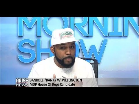 Music artiste & Politician,Banky W speaks on why he is the voice of renewed hope in Nigeria in 2019