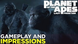 Planet of the Apes: Last Frontier — GAMEPLAY & Impressions!