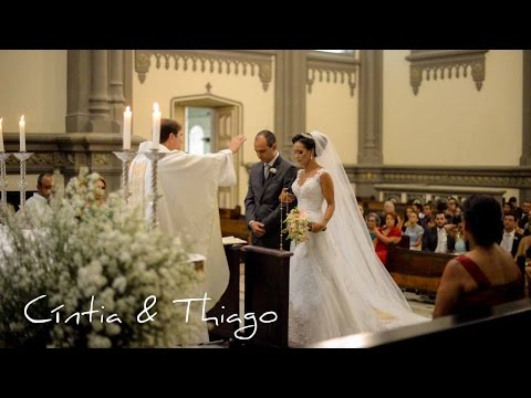 Filmagem Casamento Catedral Vix- ES  - Cíntia & Thiago - Dvix