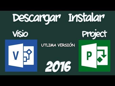 Como Descargar e Instalar Microsoft Visio y Project 2016 Full  (Español)