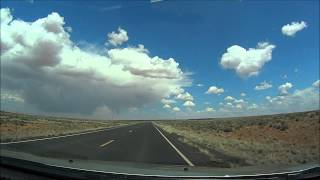 Chinle (AZ) United States  City pictures : Navajo Drive-US 191-Ganado to Chinle, AZ timelapse drive