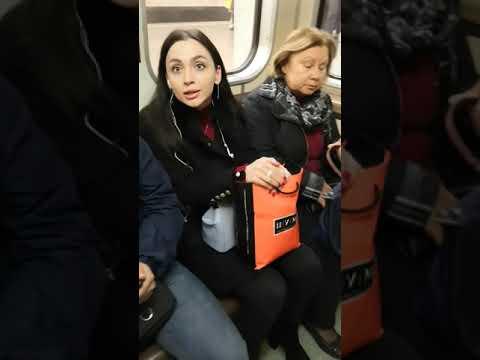 Конфликт в московском метро