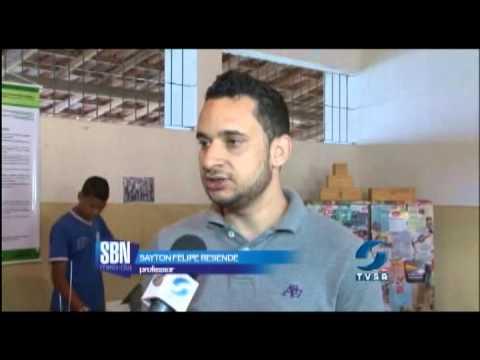 Aluno da cidade de Itanhém ficou em primeiro lugar em uma feira de ciência.