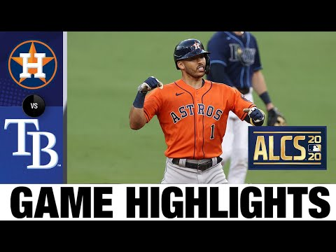 Balanced offense backs Valdez to force a Game 7 | Astros-Rays Game 6 Highlights 10/16/20