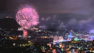 2014 Nagasaki Tall Ships Festival Night Time lapse