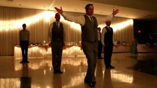Lord Of The Dance Groom & His Mates Perform Amazing Dance At His Wedding