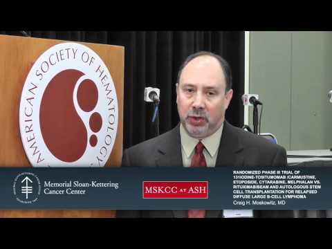 Live from ASH 2011: Randomized Phase III Trial of 131-Iodine-Tositumomab/Carmustine, Etoposide, Cyta