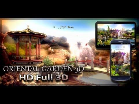 Video of Oriental Garden 3D free