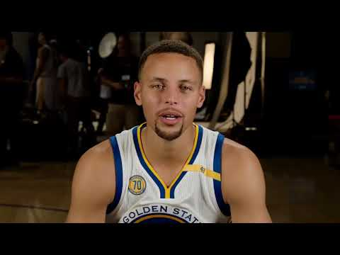 STEPHEN CURRY ON ANKLE BREAKER