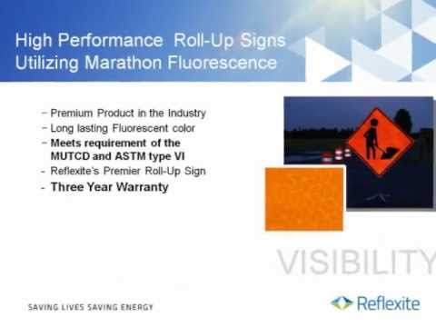 Reflexite Roll Up Sign Solutions