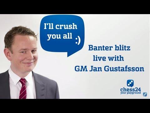 Banter Blitz with GM Jan Gustafsson (93)