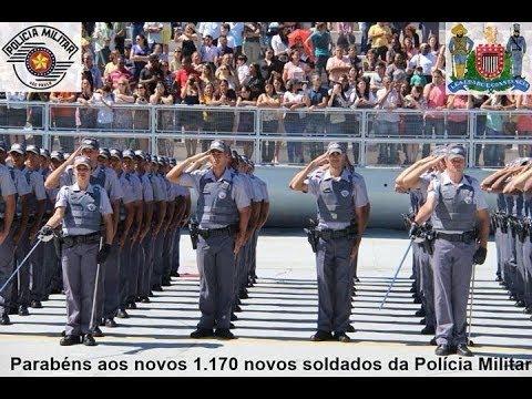 Desfile de Formatura novos Soldados da PM realizado no dia 14 de novembro de 2013