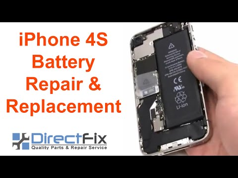 directfix - http://www.directfix.com/product/IP-2494.html presents the Apple iPhone 4S Battery Replacement Directions. This will give you step by step free video directi...