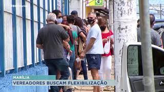 Vereadores buscam flexibilização das atividades econômicas em Marília