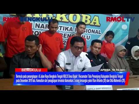 Amankan 7 Tersangka, BNNP Bengkulu Musnahkan 252,04 Gram Sabu