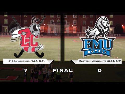#14 Lynchburg Field Hockey vs EMU