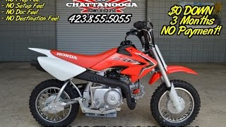 9. 2016 Honda CRF50 Kids Dirt Bike For Sale - Chattanooga TN Motorcycles since 1962!