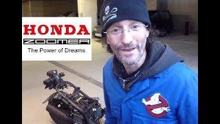 3. Honda Zoomer strange engine noise 49.9cc (Ruckus)